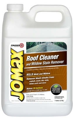 Jomax 1-Gallon Roof Cleaner & Mildew Stain Remover