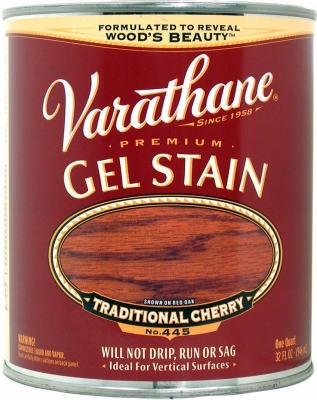 Varathane Qt. Traditional Cherry Gel Wood Stain