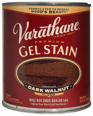 Varathane Qt. Dark Walnut Gel Wood Stain
