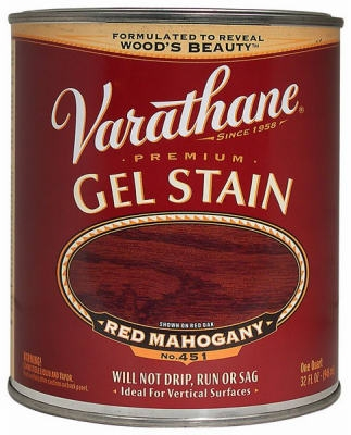 Varathane Qt. Red Mahogany Gel Wood Stain