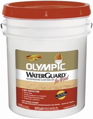 5-Gallon Olympic Waterguard Waterproofing Clear Sealant
