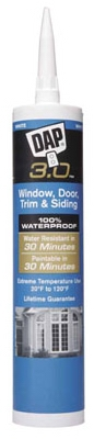 3.0 Advanced All-Purpose Sealant, White, 9-oz.
