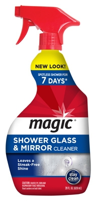 Shower Glass/Mirror Cleaner, 28-oz.