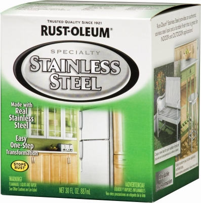 Qt. Stainless-Steel Indoor/Outdoor Paint
