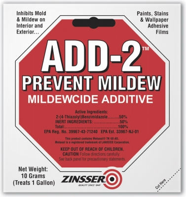 ADD-2 Interior & Exterior Mildewcide Additive