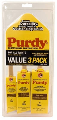 Paint Brush Value Pack, 3-Pc.