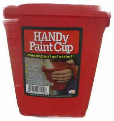 Handy Paint Cup, Disposable, 1-Pt.