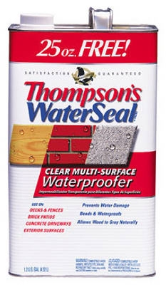 Multi-Surface Water Seal, Clear, Bonus Size, 1.2-Gals.