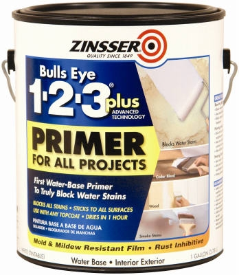 BullsEye 1-2-3 Plus Latex Primer, Gal.