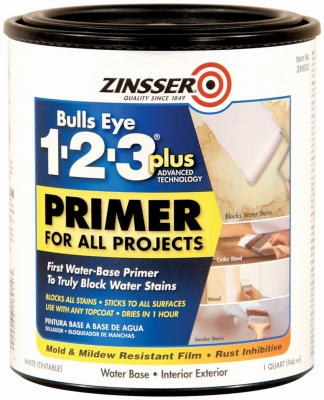 Bulls Eye 1-2-3 Plus Primer, 1-Qt.