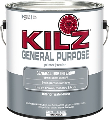 General-Purpose Interior Water-Based Primer, Gallon
