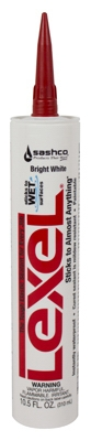 White Caulk, 10.5-oz.
