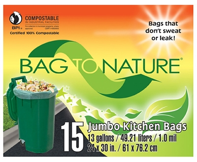 Tall Kitchen Bags, 13-Gal., 15-Ct.
