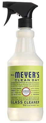 Clean Day Glass Cleaner, Lemon Verbena, 24-oz.