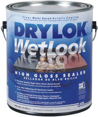 WetLook High Gloss Sealer, Clear, Gallon