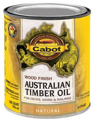 Australian Timber Oil Wood Stain Finish, Natural, Qt.