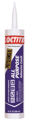 Polyseamseal, All Purpose Caulk Sealant, Clear, 10 oz.