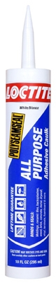 Polyseamseal, All Purpose Caulk Sealant, White, 10 oz.