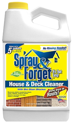 No-Rinse House & Deck Cleaner, 64-oz.