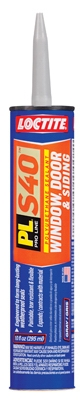 PL S-40 Door, Window Siding Polyurethane Sealant, Gray, 10-oz.