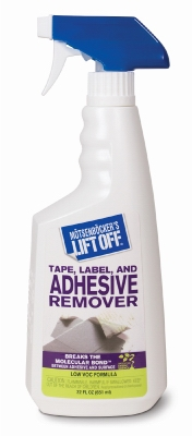Tape, Adhesive, Grease & Oil Stain Remover, 22-oz.