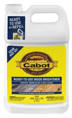 Ready-to-Use Wood Brightener - Gallon