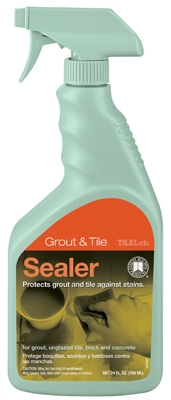 Tile & Grout Sealer, 24-oz.