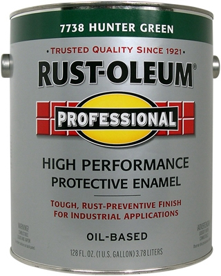 Professional Enamel, Hunter Green Gloss, 1-Gal.