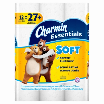 Soft Bath Tissue, 12-Pk.