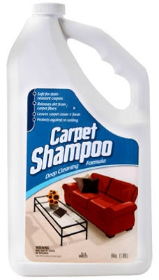 Carpet Shampoo, 1/2-Gal.