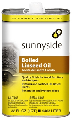 Boiled Linseed Oil, 1-Qt.