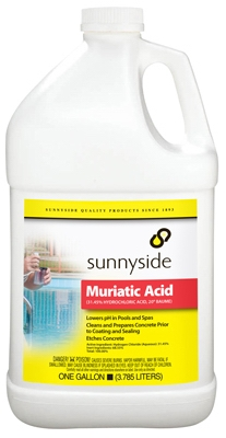 Muriatic Acid, 1-Gal.
