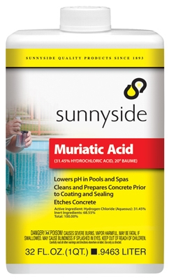 Muriatic Acid, 1-Qt.