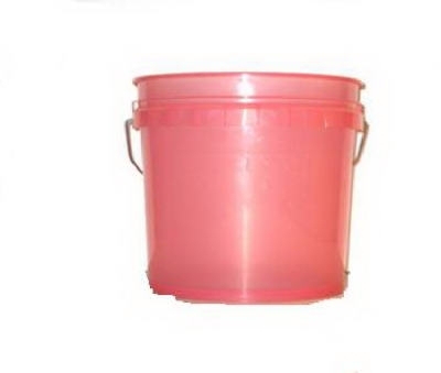 3.5-Gallon Watermelon Heavy-Duty Plastic Pail