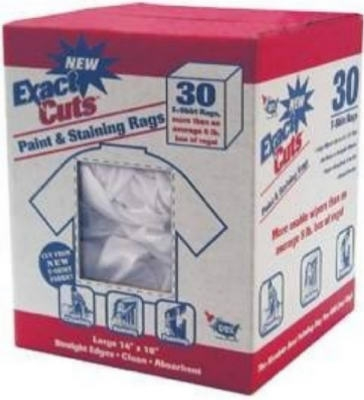 30-Count 14 x 16-Inch Paint & Stain Rags