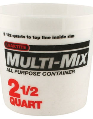 2.5-Qt. Calibrated Multi-Mix Container