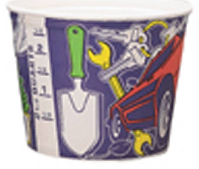 2.5-Qt. Paper Paint Pot