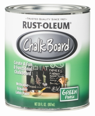 30oz Green Chalkboard Brush-On Latex Paint