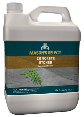 1-Gallon Safe Solution Concrete Etcher