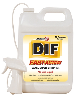 DIF 1-Gallon Fast-Acting Liquid Wallpaper Stripper