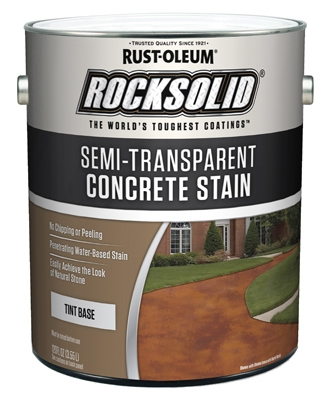 Concrete Stain & Sealer, Semi-Transparent, 1-Gal.