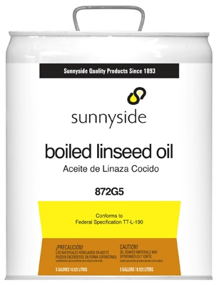 Boiled Linseed Oil, 5-Gallon