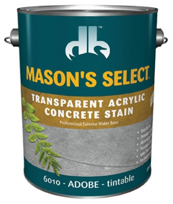 1-Gallon Adobe Transparent Concrete Stain