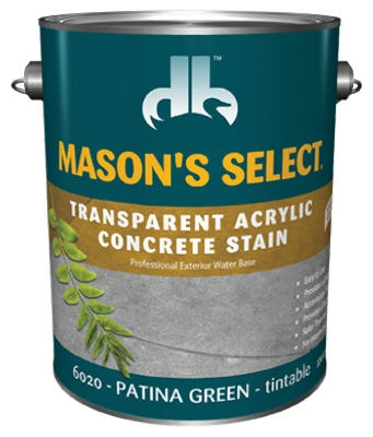 1-Gallon Patina Green Transparent Stain/Sealer