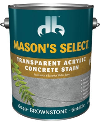 1-Gallon Brownstone Transparent Concrete Stain
