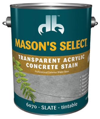 1-Gallon Slate Transparent Concrete Stain