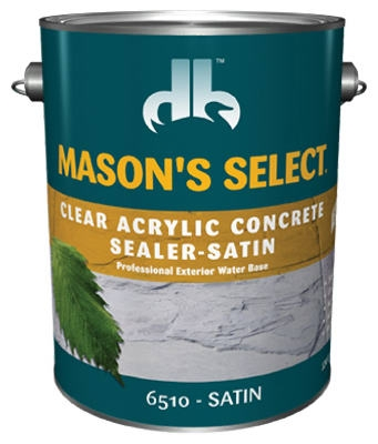 1-Gallon Clear Satin Concrete Sealer