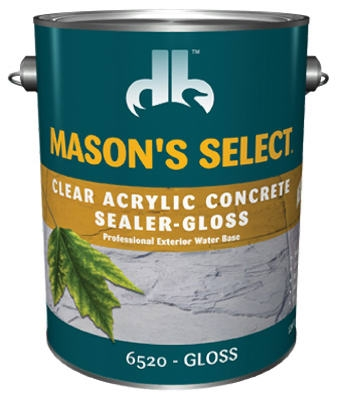 1-Gallon Clear Gloss Concrete Sealer