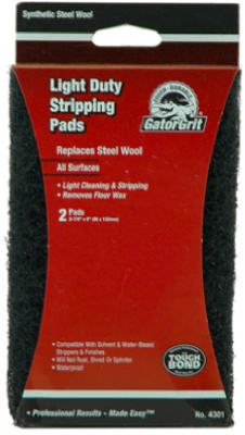 2-Pack Light Stripping Synthetic Steel Wool