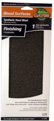 Gray Wood Finishing Pad